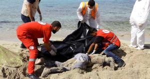 Mülteci mezarlığı Akdeniz! İnsanlık yine kıyıya vurdu