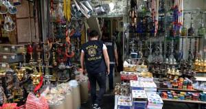 Doğubank, Mahmutpaşa ve Mısır Çarşısı'na 500 polisle dev baskın