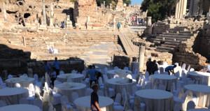 'Efeste düğün'e Bakanlıktan açıklama: Efes değil Celsus Kütüphanesi