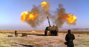 Yeni operasyonun ilk sinyali! Türk topçusu YPG'yi vurdu