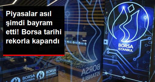 Psikolojik Eşik Aşıldı! Borsa İstanbul, Tüm Zamanların Rekoruyla Kapandı