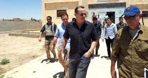 Trump'ın özel temsilcisinden terör örgütü YPG'ye ziyaret