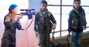 ABD raporunda şoke eden fotoğraflar! Terör örgütünün çocuk sniperları