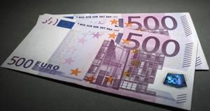 Bankalar artık 500 euroluk banknotları kabul etmiyor