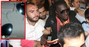 Galatasaraylı taraftar, Gomis'ten çaldığı gözlüğü satışa çıkardı