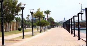 Hayalet kent! Afrika sıcakları bastırınca vatandaş evlere çekildi