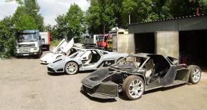 Oto tamircisi hurdalıktan topladığı parçalarla McLaren yaptı!
