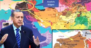 İşte Erdoğan'ın bahsettiği harita: Türkiye'yi bölmüşler