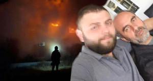 Önce fabrikayı yaktı, sonra babasını arayıp yangını görüntülü izletti