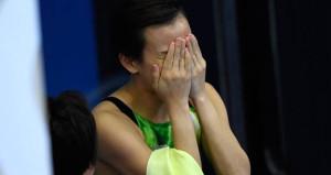 Şampiyonada tarihi an! Hüngür hüngür ağladı