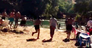 PKK'lılar ateş açtı, plajdaki Tuncelililer neye uğradığını şaşırdı