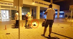 Avustralyalı turist önce oteli sonra hastaneyi birbirine kattı