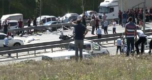 Bayrampaşa'da korkunç kaza:  2 Yunus polisi şehit oldu