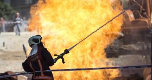 Başkent'te korkutan görüntü! Alevler 10 metreye ulaştı