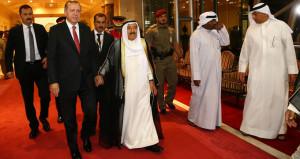 Erdoğan'a Kuveyt'te sıcak ve üst düzey güvenlikli karşılama!
