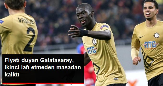 Fiyatı duyan Galatasaray, ikinci lafı etmeden masadan kalktı