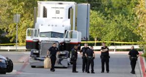 Polis bile şoke oldu! Ölüm kamyonunun kasasından ceset fışkırdı