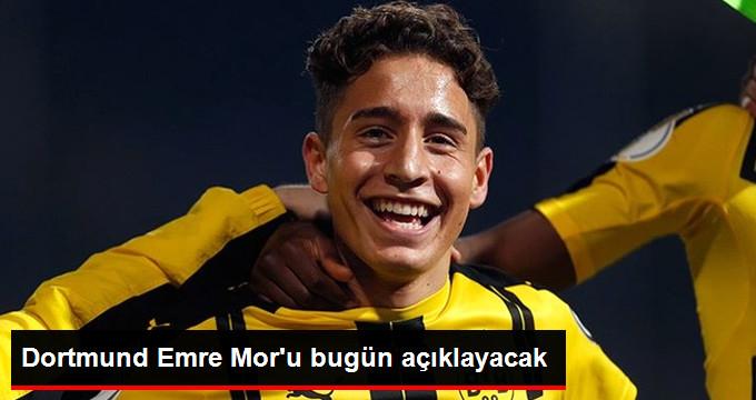 Dortmund Emre Mor u bugün açıklayacak