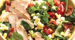 Fast food restoranlarında salata yemeden önce bir kez daha düşünün