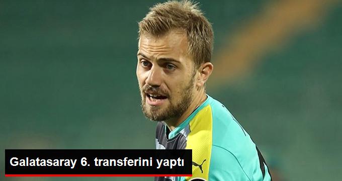 Galatasaray 6. transferini yaptı
