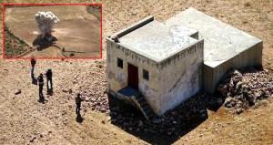 Su deposuna gizlenen 420 kilo patlayıcı böyle imha edildi