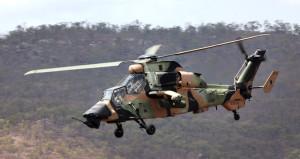 Alman ordusuna ait askeri helikopter düştü!