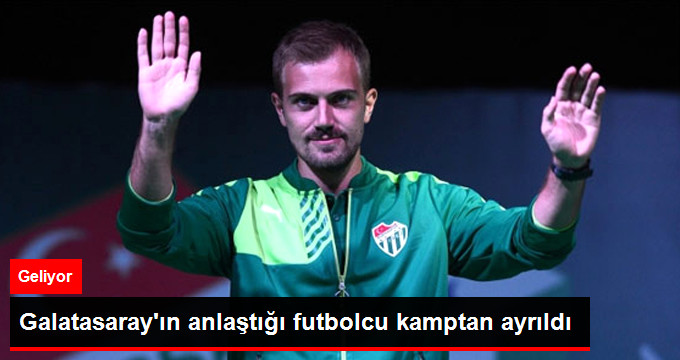 Galatasarayın anlaştığı futbolcu kamptan ayrıldı