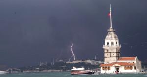 AKOM bu kez saat verdi! İstanbul'da bu gece yeni yağış dalgası geliyor