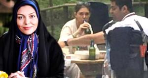 Bira içerken görüntülenen İranlı spiker ülkeyi ayağa kaldırdı