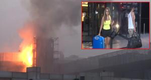 İstanbul'da lüks otelde sabaha karşı yangın paniği!