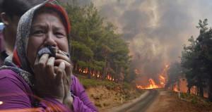 İzmir'deki orman yangını Manisa'ya sıçradı! 2 bin kişi tahliye edildi