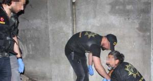 Ormancı kılığına giren polisler, tünelde bir ton uyuşturucu buldu