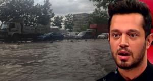İstanbuldaki felaketten Murat Boz da nasibini aldı