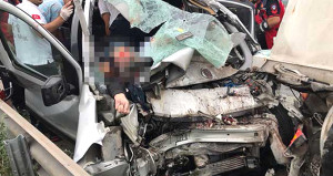 TEM otoyolunda feci kaza: 4 ölü, 1 yaralı