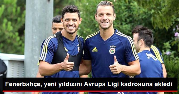 Fenerbahçe, yeni yıldızını Avrupa Ligi kadrosuna ekledi