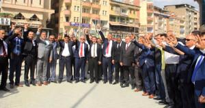 MHP'den Hakkari'de bozkurt işaretli açılış!