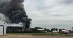 Londra'da havalimanı yakınında patlama
