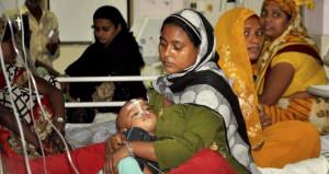 Hastanenin borçları yüzünden, 1 haftada 100 çocuk can verdi!