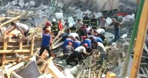 Hatay'da okul inşaatında göçük: 1 ölü 3 yaralı