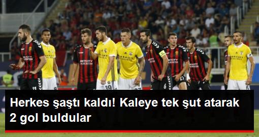 Vardar, Fenerbahçe Kalesine Tek Şut Çekerek 2 Gol Buldu