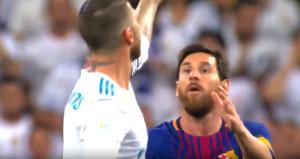 Real Madrid kaptanı, Messiyi küçük düşürdü