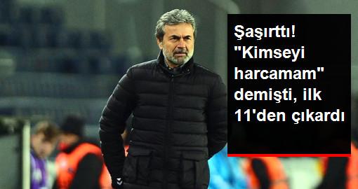 Aykut Kocaman, Volkan Demirel'i Vardar Maçı İlk 11'ine Almadı