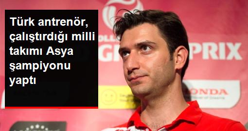 Türk Antrenörün Çalıştırdığı Japonya Voleybol Takımı Asya Şampiyonu Oldu
