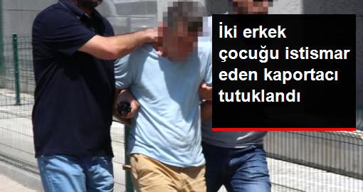 İki Erkek Çocuğa İstismardan Gözaltına Alındı