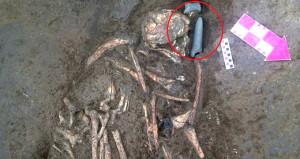 İstanbul'un göbeğinde buldular! 6 bin yıl önce gömülmüş