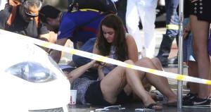 Kamyonlu terör saldırısının ardından yürek burkan kareler!