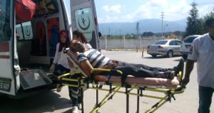 Trafik magandalarının kavgasında patlayan silah sahibini vurdu!