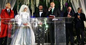 Erdoğan, Bakan kızının nikahında şahitlik yaptı, 4 çocuk sözü aldı