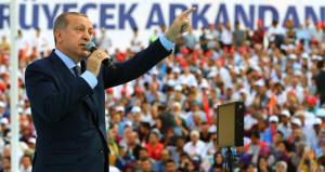 Erdoğan: Türkiye yol ayrımında! Ya tek parti CHP'si ya AK Parti