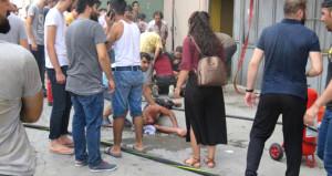 İstanbul'da iş yerinde korkunç yangın: 1 ölü, 10 yaralı